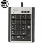 Mini clavier USB Notebook non synchrone Ordinateur multi fonction avec 19 touches - wewoo.fr