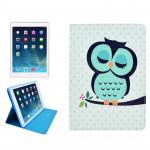 Smart Cover iPad Mini Hibou Motif de protection étui en cuir PU avec le sommeil / réveil fente Fonction et carte Retina - we...