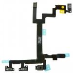 Composants iPhone 5 Commutateur d'origine Câble Flex Bouton d'alimentation Volume et clavier de Silent Switch - wewoo.fr