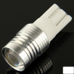 LED Voiture T10 3W blanche Signal Ampoule, DC 12V paire - wewoo.fr