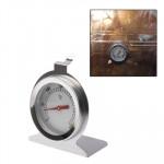 Thermomètres de cuisson Acier inoxydable Four Thermomètre 0 ~ 300 Argent - wewoo.fr