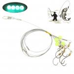 Crochets de pêche 18 Sea Hameçon avec Jade Fluorescence - wewoo.fr