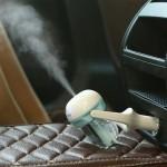 Purificateur d'air voiture Nanum 50mL 180 degrés de rotation aromathérapie Humidificateur avec la lumière, seulement auto 12V...
