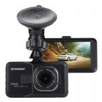 Dashcam LCD voiture DVR caméra 3.0 pouces HD 720P 3.0MP 170 degrés grand angle de visualisation, soutien vision nocturne / dé...
