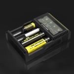 Chargeur de piles Nitecore intelligent Digi avec écran LCD 14500, 16340 RCR123, 18650, 22650, 26650, Ni-MH et Ni-Cd AA, AAA B...