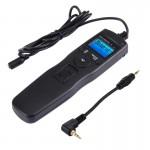 Cordon d'obturation appareil photo RST-7001 Écran LCD Accéléré Intervalomètre déclencheur numérique Télécommande de minuterie...
