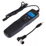Cordon d'obturation appareil photo RST-7004 Écran LCD Accéléré Intervalomètre déclencheur minuterie numérique Contrôleur à di...