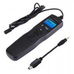 Cordon d'obturation appareil photo RST-7006 Écran LCD Accéléré Intervalomètre déclencheur minuterie numérique Contrôleur à di...