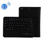 Clavier iPad Mini 4 / 3 2 Bluetooth détachable et étui en cuir avec support noir - wewoo.fr