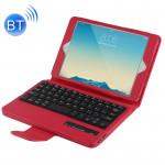 Clavier iPad Mini 4 / 3 2 Bluetooth détachable et étui en cuir avec support rouge - wewoo.fr