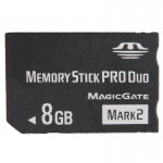 Memory Stick MARK2 8 Go High Speed Duo Pro 100% Capacité réelle - wewoo.fr