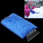 Raclette pare brise Fournitures Automobile voiture neige / glace Pelle avec Housse de protection l'hiver froid bleu - wewoo.fr