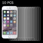 Verre Trempé 10 PCS l'iPhone 8 Plus et iPhone 7 0.26mm 9H dureté de surface 2.5D Antidéflagrant en Film non plein écran - we...