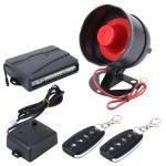 Système d'alarme Voiture de sécurité Avertissement avec deux télécommandes, DC 12V - wewoo.fr
