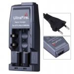 Chargeur de piles Batterie Ultrafire rapide 14500/17500/18500/17670/18650, sortie: 4.2V / 450mA EU Plug Gris - wewoo.fr