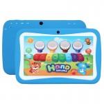 Tablette enfant Enfants Education Tablet PC, 7.0 pouces, 512 Mo + 8 Go, Android 5.1 RK3126 Quad Core à 1,3 GHz, 360 degrés de...