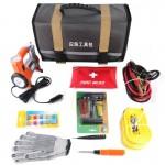 Kit d'urgence Tout d'abord Roadside sécurisé voiture de secours et camions avec des outils sécurité accessoires Sac: Jumper C...