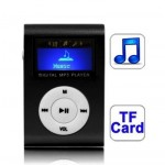 Lecteur MP3 TF Micro SD fente carte avec écran LCD, clip en noir - wewoo.fr