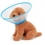 Muselières chien Elizabeth Collier Ruff Coiffures Entonnoir Couverture Anti Bite Léchez sécurité pratique du cou de protectio...