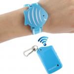 Alarme anti-perte Bracelet d'alarme protection de l'enfant dans lieu public JB-L03 Bleu - wewoo.fr
