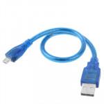 Cable Micro USB 2.0 mâle câble adaptateur Samsung Galaxy S IV / i9500 III i9300 Note II N7100 i9220 i9100 i9082 Nokia LG Blac...