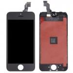 Écran LCD iPhone 5C 3 en 1 LCD + cadre pavé tactile Assemblée Digitizer Noir - wewoo.fr