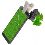 Microscope iPhone 65X Zoom numérique téléphone portable Loupe avec LED et clip Samsung Galaxy Note III / N9000 i9500 5 & 5C 5...