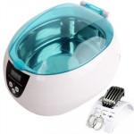 Nettoyeur à ultrasons numérique Réservoir en acier inoxydable avec écran LCD Bijoux / Montre dentier - wewoo.fr
