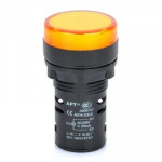 Lde signal AD16-22D / S 22mm LED Indicateur jaune - wewoo.fr