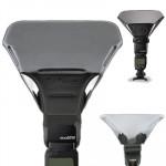 Universal Camera FB-Top 20 Flash Light Speedlite Bounce focus Diffuseur de Noir - wewoo.fr