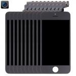 Écran LCD iPhone 5C 10 PCS 4 en 1 Caméra + cadre Touch Pad Assemblée Digitizer Noir - wewoo.fr