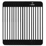 Vitre iPhone 5C 10 PCS écran avant externe lentille en verre Noir - wewoo.fr