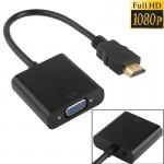Cable HDMI Version 1.3 Full HD 1080P vers VGA + Sortie audio Câble ordinateur / DVD numérique boîtier décodeur portable télép...