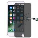 Verre Trempé iPhone 7 plus Confidentialité Anti-éblouissement Protecteur d'écran 0.26mm 9H dureté de surface 2.5D Antidéflagr...