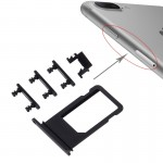 pièces détachées iPhone 7 Plus Card Bac + Contrôle du volume Touche Bouton d'alimentation Commutateur Mute Vibrator Key Noir ...