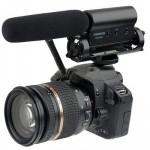 Microphone appareil photo SGC-598 Condenser Microphones Enregistrement professionnel Photographie Interview dédiés reflex num...