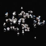 Visserie iPhone 7 Plus Outils de réparation Vis complète / boulons Set Noir - wewoo.fr
