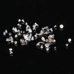 Visserie iPhone 7 Plus Outils de réparation Vis complète / boulons Set Blanc - wewoo.fr