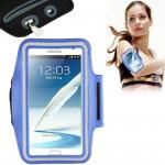 Brassard Galaxy Note Universal PU Sport cas avec Armband écouteurs Trou Samsung 4 / N910 III N9000 II N7100 i9220 N7000 N7005...