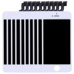Pièces détachées iPhone SE 10 PCS 3 en 1 LCD + cadre Touch Pad Assemblée Digitizer Blanc - wewoo.fr