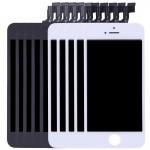 Pièces détachées iPhone SE 5 PCS Noir + blanc 3 en 1 LCD cadre pavé tactile Assemblée Digitizer - wewoo.fr