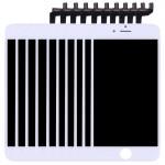 Écran LCD iPhone 6S 10 PCS 3 en 1 LCD + monture Touch Pad Assemblée Digitizer Blanc - wewoo.fr