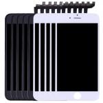 Écran LCD iPhone 6S 5 PCS Noir + blanc 3 en 1 LCD cadre pavé tactile Assemblée Digitizer - wewoo.fr