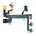 Pièces détachées iPhone SE Bouton d'alimentation et volume lampe de poche Flex câble - wewoo.fr