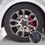 Sticker 3D en métal voiture