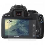 Protection écran appareil photo Caméra 2.5D bord incurvé 9H dureté de surface en verre trempé Protecteur d'écran Canon 100D /...