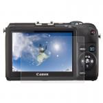 Protection écran appareil photo Caméra 2.5D bord incurvé 9H dureté de surface Trempé Protecteur d'écran en verre Canon M2 / S...