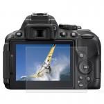 Protection écran appareil photo Caméra 2.5D bord incurvé 9H dureté de surface Protecteur d'écran Verre trempé Nikon D5300 / D...