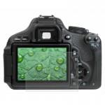 Protection écran appareil photo Caméra 2.5D bord incurvé 9H dureté de surface en verre trempé Protecteur d'écran Canon 650D /...