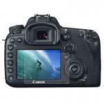 Protection écran appareil photo Caméra 2.5D bord incurvé 9H dureté de surface en verre trempé Protecteur d'écran Canon 7D Mar...